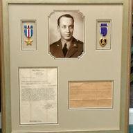 Honored Veteran Purple Heart Collage