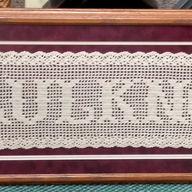 Crocheted Name