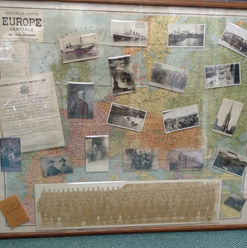 WWII Map, Photos & Documents Collage_edi