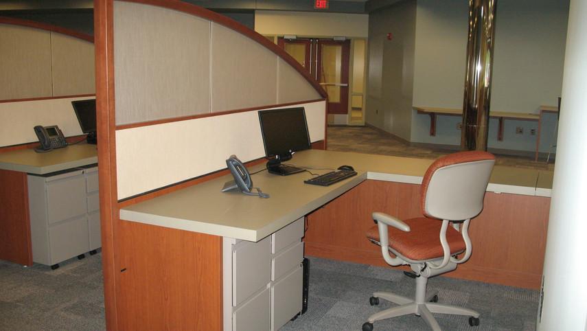 Custom Desk Interactive Design Feature