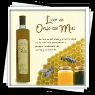 Licor de orujo de Miel Val de Farelo