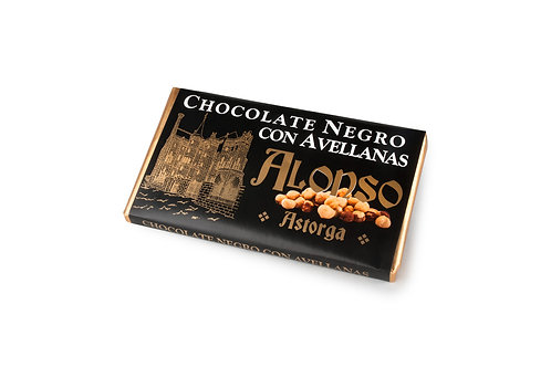 Chocolate negro con avellanas Alonso