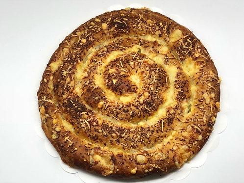 Ensaimada de mermelada de higos con queso Menorca
