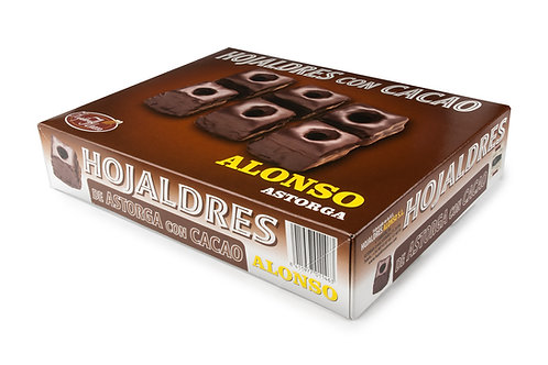 Hojaldres Con Cacao 400 grs.