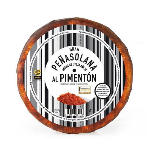 Cuña 0.300 gr Queso de Oveja Peñasolana Añejo al Pimentón