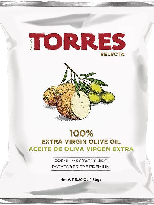 Patatas Fritas Selecta 100% Aceite de Oliva Virgen Extra 50 gr