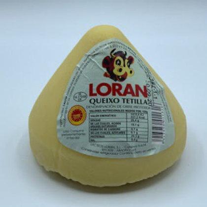 Queso Tetilla Lorán 850 g