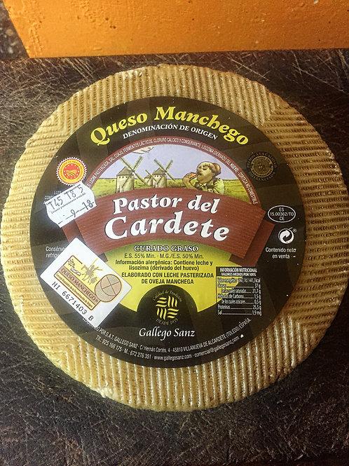 "Queso D.O. Manchego ""Pastor del Cardete 2.800 kg"
