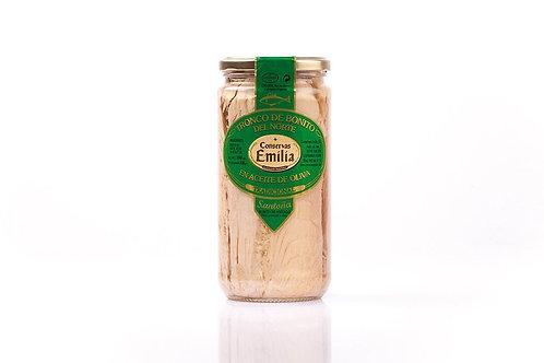 Tronco de Bonito del Norte en aceite de oliva 750 g