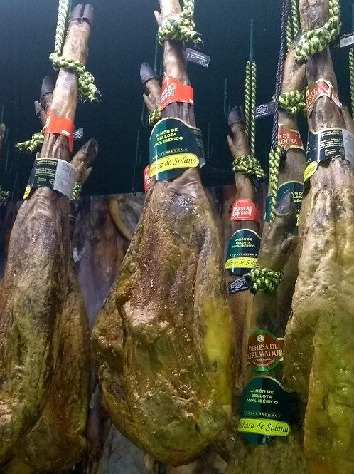 Jamón ibérico Bellota 100% Extremadura 7.300 kg