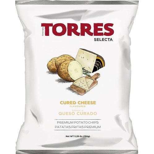 Patatas Fritas Selecta sabor a Queso Curado 150 gr