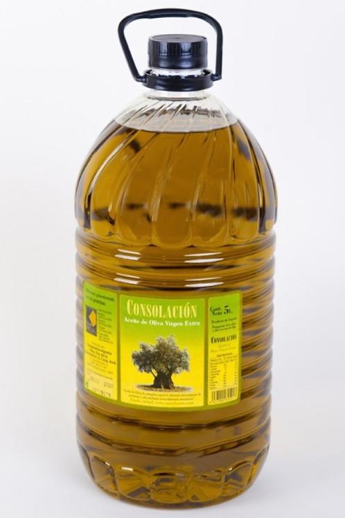 Botella de Aceite de Oliva de 5L. Virgen Extra