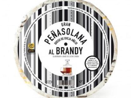 Media pieza Queso de oveja Peñasolana Añejo con manteca al brandy Zamorano 1.400