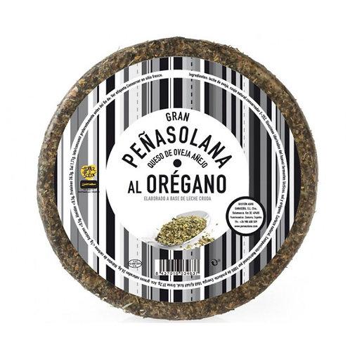 Media pieza Queso de Oveja Peñasolana Añejo al Orégano 1.300 kg