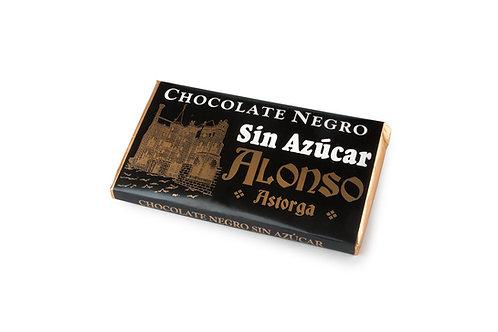 Chocolate negro sin azúcar Alonso