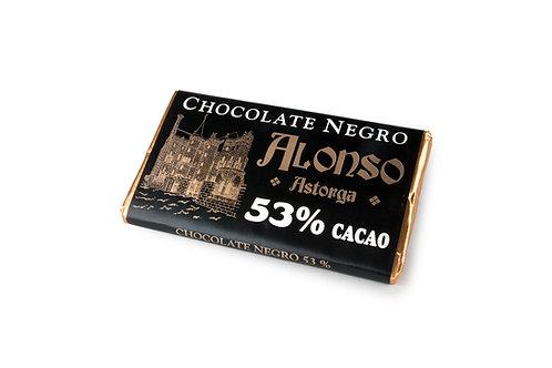 Chocolate Negro puro 53% Alonso