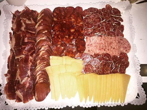 Bandeja Ibéricos, variado y quesos