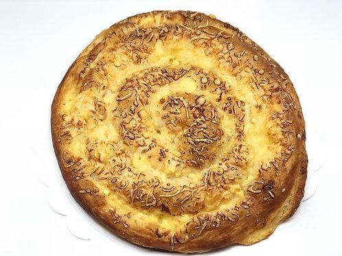 Ensaimada crema de queso de Menorca