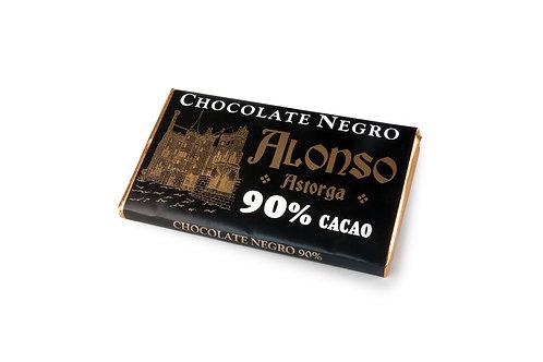 Chocolate negro puro 90% Alonso