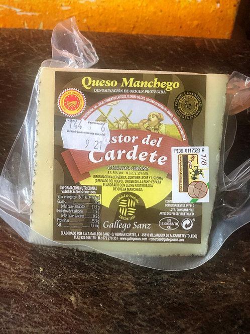 "Cuña 0.750 gr Queso D.O. Manchego ""Pastor del Cardete"""