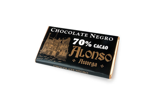 Chocolate negro puro 70% Alonso