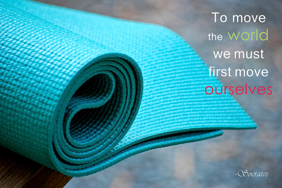 Why you should have your own yoga mat.