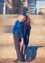 Alec and Stacy Abbott, Partner Yoga