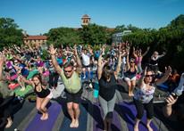Yoga at the VMFA