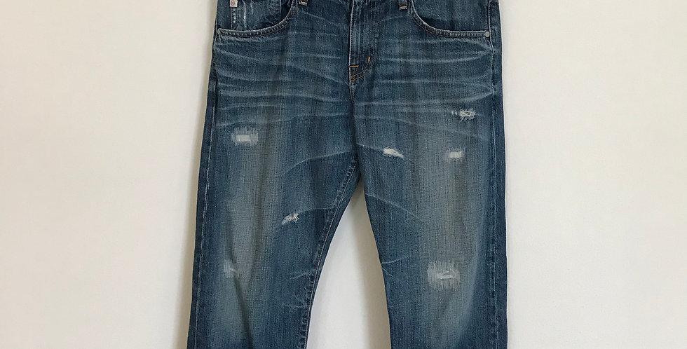 AG Jeans Ex-Boyfriend Crop Denim, Size 32