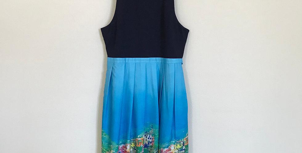 Hutch Print Dress, Size L