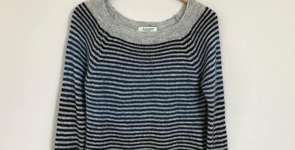Cocogio Striped Sweater, Size XS
