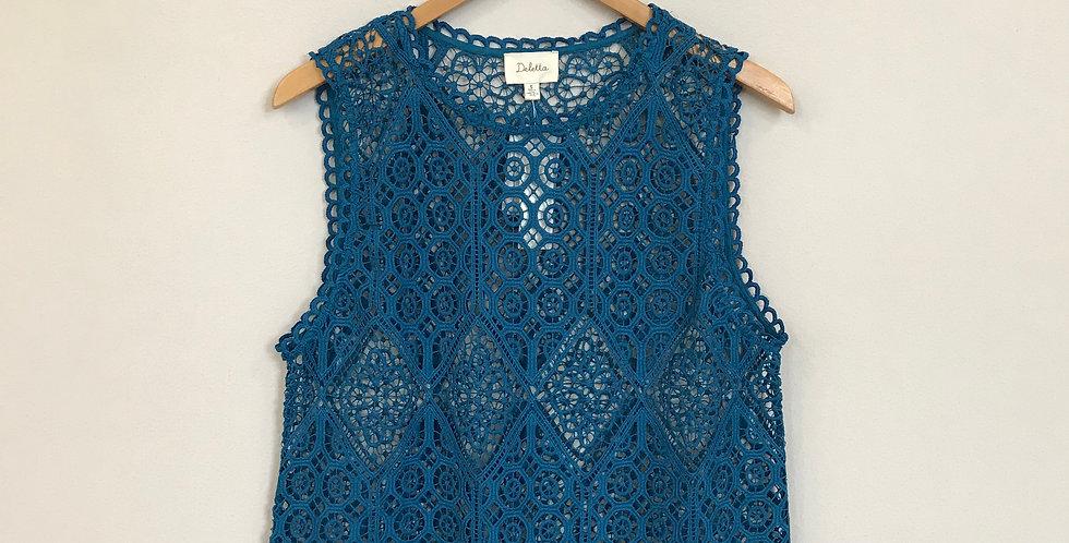 Deletta Crochet Top, Size S