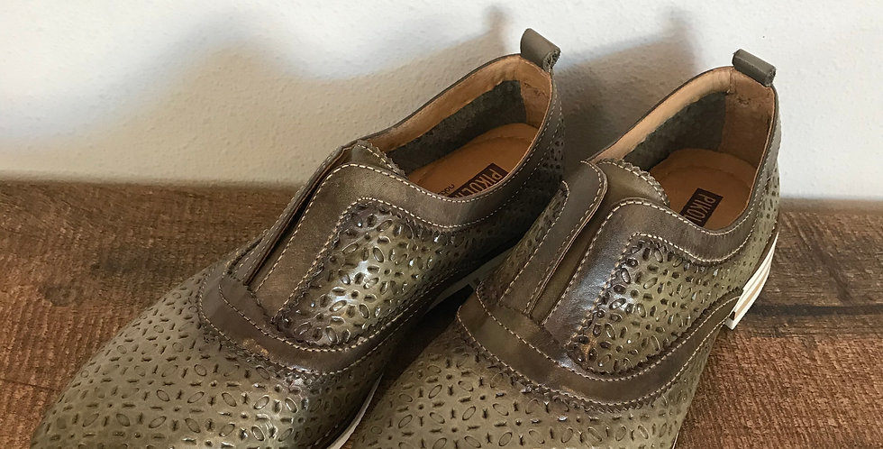 Pikolinos Slip On Oxfords, Size 36 [5-5.5]