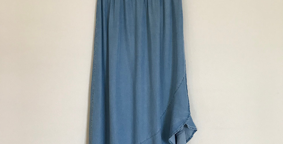 Gap Chambray Midi Skirt, Size S