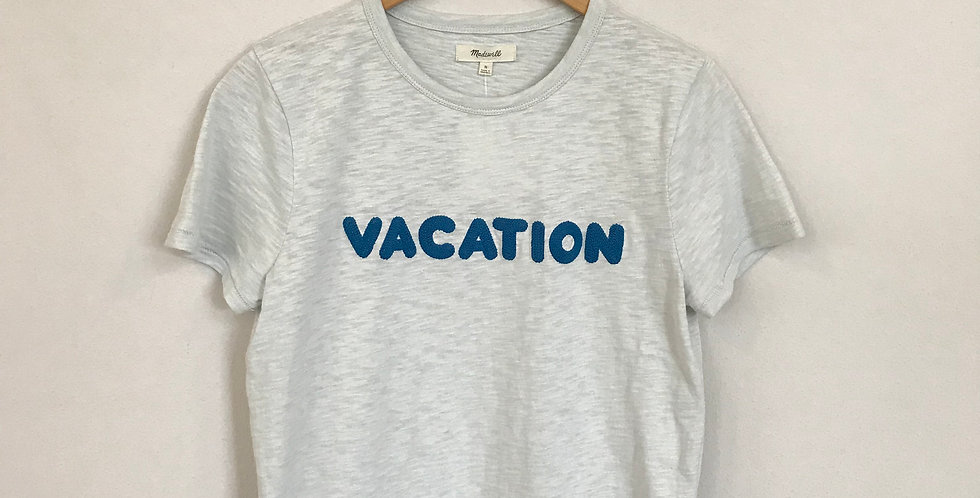 Madewell Vacation Graphic Tee, Size S