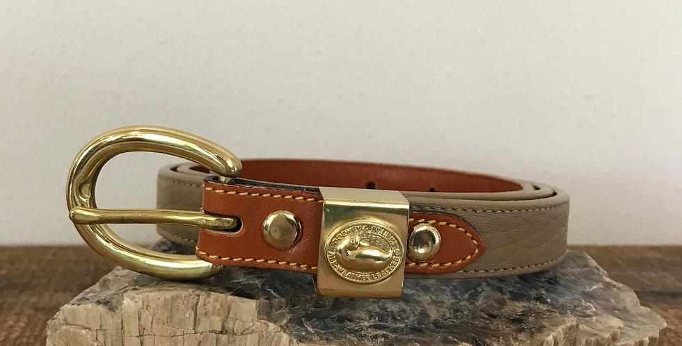 Dooney & Bourke AWL Skinny Belt, Size L