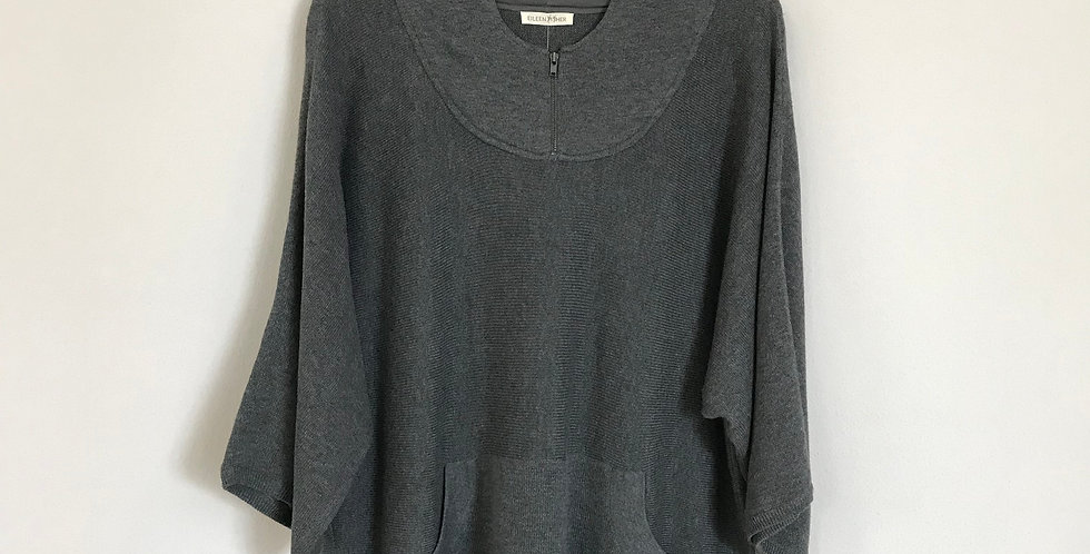 Eileen Fisher Hoodie Sweater, Size M/L