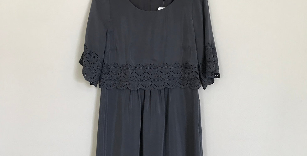 Madewell Silk Dress, Size S
