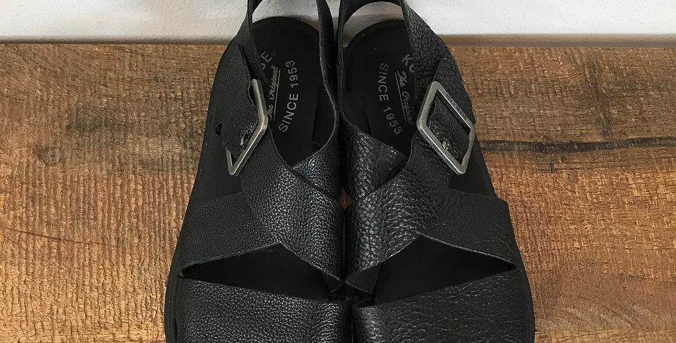 Kork-Ease Wide Strap Sandals, Size 7