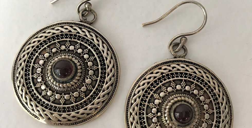 Medallion Earrings