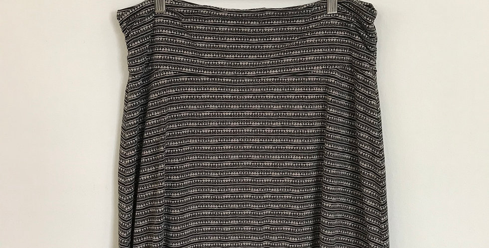 Toad & Co A Line Skirt, Size XL
