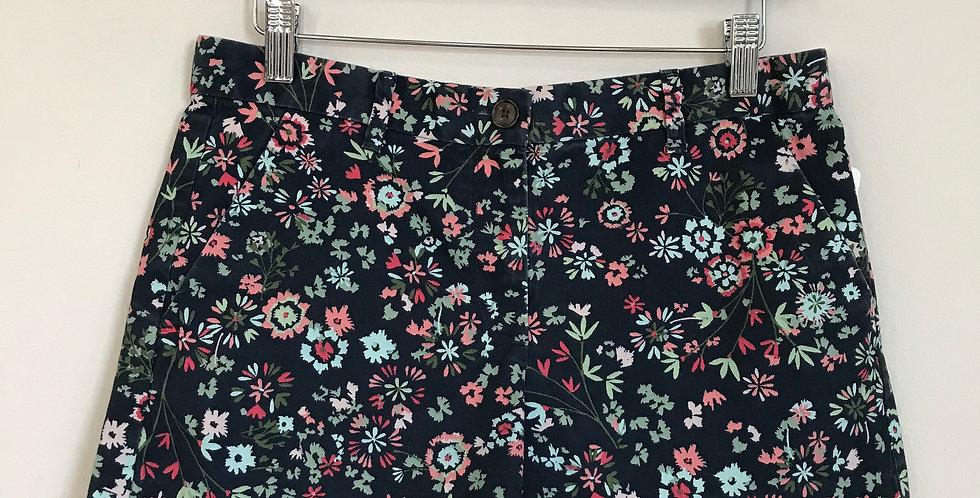 Gap Floral Shorts, Size 2