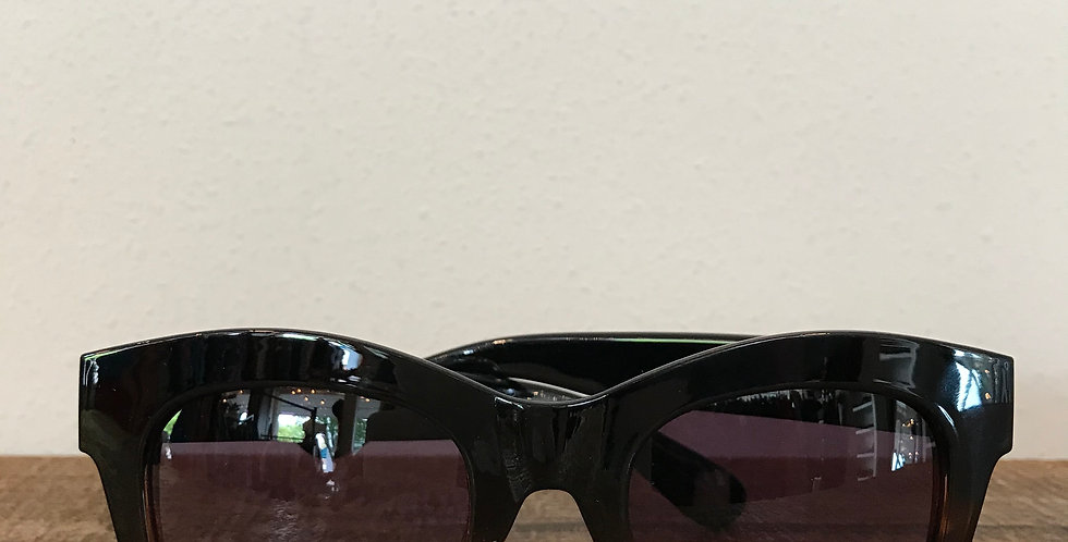 Black w/Tortoise Frame Sunglasses