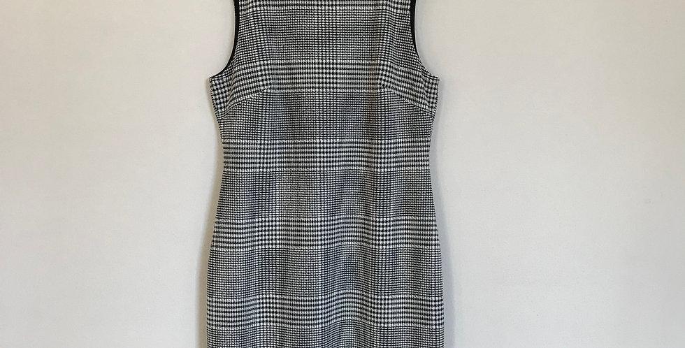 Calvin Klein Houndstooth Dress, Size L