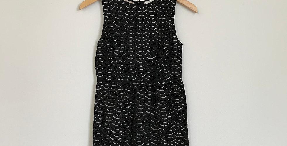 Loft Eyelet Dress, Size XSP