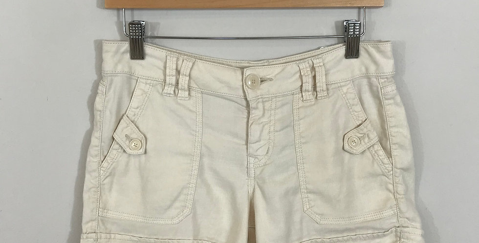 Level 99 Linen Shorts, Size 27
