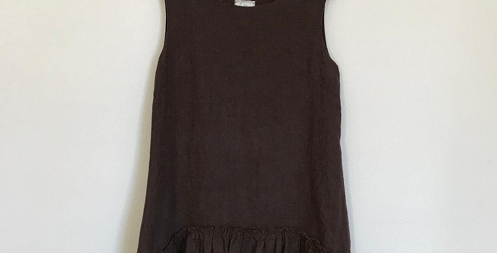 Vintage 316 Linen Dress, Size M/L