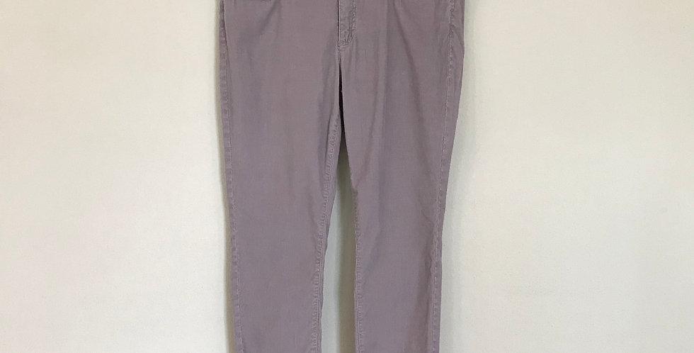 LL Bean Skinny Corduroy Pants, Size 12
