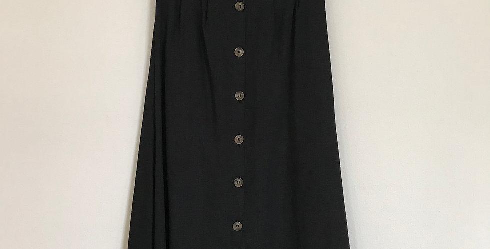 Hayden Los Angeles Button Midi Skirt, Size M