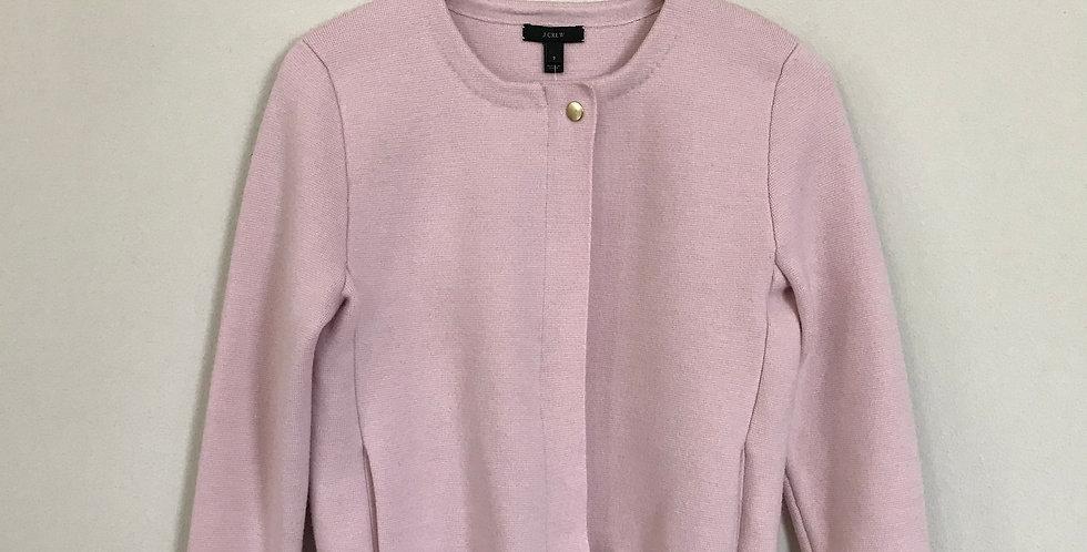 J. Crew Merino Zip Sweater, Size S
